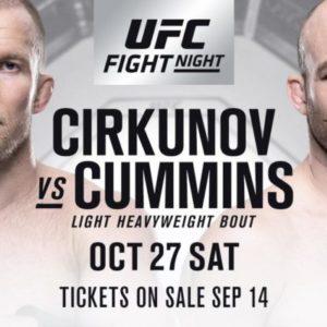 Видео боя Миша Циркунов - Пэт Камминс UFC Fight Night 138