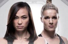 Видео боя Мишель Уоттерсон — Фелис Херриг UFC 229
