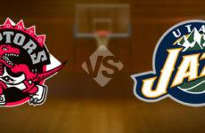 Видео. Юта Джаз довольно спокойно выиграла у себя дома в предсезонном матче против Торонто Рэпторс. NBA.