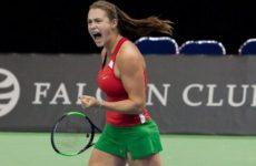 Прямая трансляция Гарбинье Мугуруса — Арина Сабаленко. Теннис. WTA Premier Mantadory Пекин