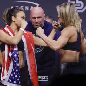 Результат боя Мишель Уотерсон — Фелис Херриг на UFC 229