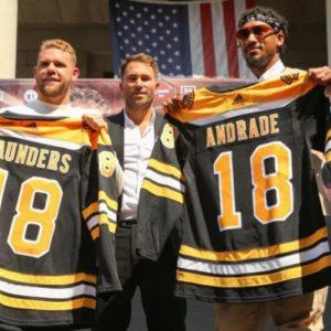 Сондерс и его команда подали в суд из-за отмены боя с Андраде и лишения пояса