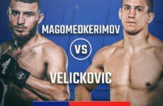 Результат боя на PFL 10 между Магомедом Магомедкеримовым и Бояном Величковичем
