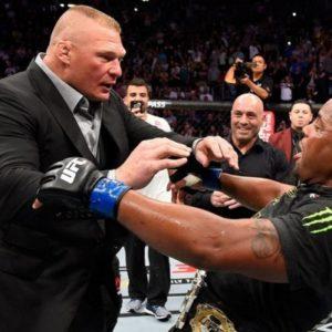 Брок Леснар собирается посетить UFC 230