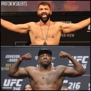 Стало известно, что Уолт Харрис и Андрей Орловский встретятся на UFC 232