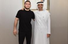 В ОАЭ Хабиб Нурмагомедов встретился с шейхом