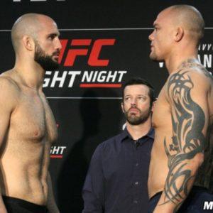 Энтони Смит победил Волкана Оздемира на UFC Fight Night 138