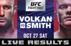 Полные результаты турнира UFC Fight Night 138