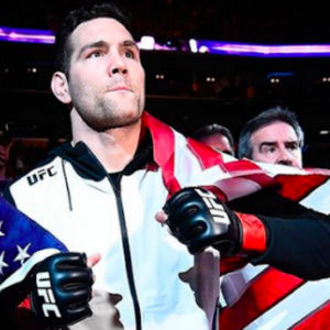 Крис Уайдман заявил, что не зол на UFC из-за решения отдать титульный бой Гастелуму