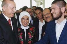 Президент Турции лично встретил Хабиба Нурмагомедова в Истанбуле
