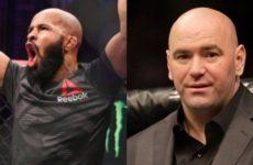 Дана Уайт признал тот факт, что Деметриус Джонсон не получал заслуженного признания в UFC