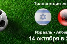Прямая трансляция Израиль — Албания. Футбол. Лига Наций. Лига С. 14.10.18