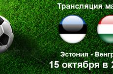 Прямая трансляция Эстония — Венгрия. Футбол. Лига Наций. Лига C. 15.10.18