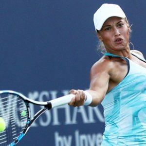 Прямая трансляция Юлия Путинцева - Карла Суарес Наварро. Теннис. WTA Premier Mantadory Пекин.
