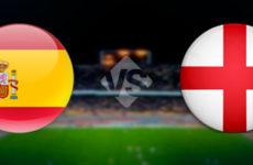 Прямая трансляция Испания — Англия. Футбол. Лига Наций. Лига А. 15.10.18