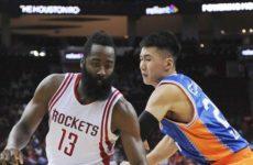 Прямая трансляция Хьюстон Рокетс — Шанхай Шаркс. Баскетбол. Предсезонные матчи.