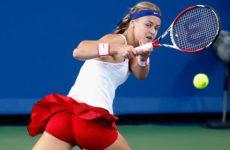 Пряма трансляция Элисон Ван Эйтванк — Анна Каролина Шмидлова. Теннис. WTA International Линц.