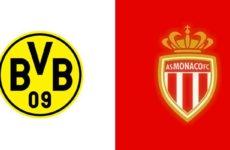 Прямая трансляция Боруссия Дортмунд — Монако. Футбол. Лига Чемпионов 18/19