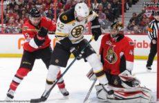 Прямая трансляция Бостон Брюинз — Оттава Сенаторс. Хоккей. НХЛ.