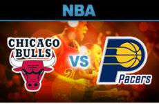 Прямая трансляция Чикаго Буллз — Индиана Пайсерс. Баскетбол. Предсезонные матчи НБА.