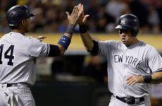 Прямая трансляция Нью-Йорк Янкиз — Окленд Атлетикс. Бейсбол. MLB Wild-Card Финал.