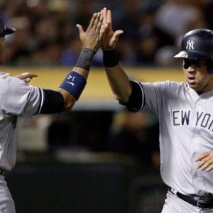 Прямая трансляция Нью-Йорк Янкиз - Окленд Атлетикс. Бейсбол. MLB Wild-Card Финал.