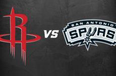 Прямая трансляция Сан-Антонио Спёрс — Хьюстон Рокетс. Баскетбол. Предсезонные матчи НБА.