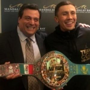 Команда Головкина недовольна решением президента WBC о 3-м поединке с Альваресом
