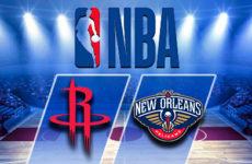 Прямая трансляция Хьюстон Рокетс — Нью-Орлеан Пеликанс. NBA. 15.10.18