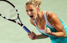 Прямая трансляция Каролина Плишкова — Александра Соснович. Теннис. WTA Premier Mantadory Пекин.