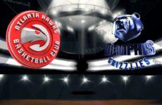 Видео. Мемфис Гризлиз спокойно выиграл Атланту Хоукс в предсезонных матчах НБА