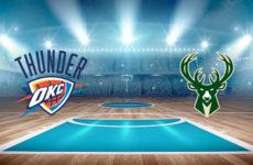 Прямая трансляция Оклахома-Сити Тандер — Милуоки Бакс. Баскетбол. Предсезонные мтачи НБА.