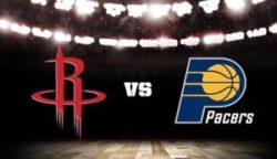 Прямая трансляция Индиана Пайсерс - Хьюстон Рокетс. Баскетбол. Предсезонные матчи НБА.