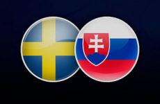 Прямая трансляция Швеция — Словакия. Футбол. Товарищеские матчи. 16.10.18