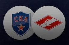 Прямая трансляция СКА — Спартак. Хоккей. КХЛ. 15.10.18