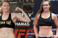 Видео боя Аспен Ладд — Тоня Эвинджер UFC 229