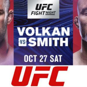 Файткард турнира UFC Fight Night 138: Волкан Оздемир — Энтони Смит