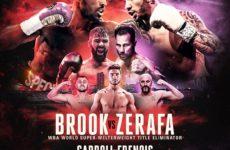 Официально: Келл Брук следующий бой проведет против Майкла Зерафы