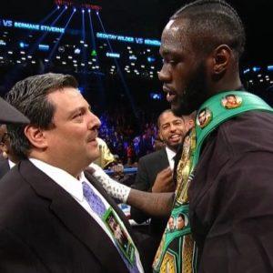 Сулейман: «Победитель боя между Уайлдером и Фьюри должен встретиться на ринге с Джошуа»