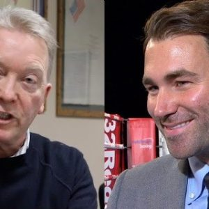 Фрэнк Уоррен возмущен предложением Эдди Хирна на бой между Тайсоном Фьюри и Энтони Джошуа