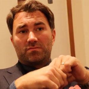 Эдди Хирн считает, что Александру Усику необходимо менять весовую категорию, и чем раньше, тем лучше