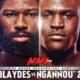 Файткард турнира UFC Fight Night 141: Блэйдс — Нганну