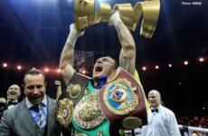 Александр Усик улучшил свою позицию в рейтинге Pound-4-Pound