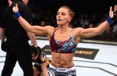 Александра Албу встретится с Эмели Уитмайр на турнире UFC 233