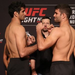 Видео боя Бенил Дариуш - Тиаго Мойзес UFC Fight Night 139