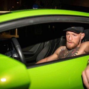 Конор МакГрегор лишен прав на полгода за превышение скорости