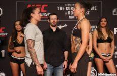 Видео боя Джермейн де Рандами — Ракель Пеннингтон UFC Fight Night 139