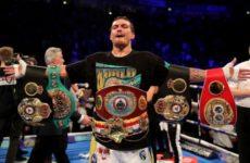 Александр Усик вошёл в тройку лучших боксёров мира