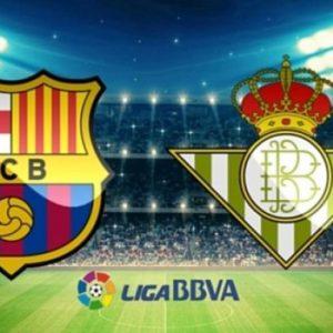 Прямая трансляция Барселона - Бетис. Футбол. Ла Лига. 11.11.18