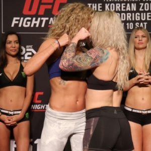 Видео боя Эшли Йодер - Аманда Купер UFC Fight Night 139